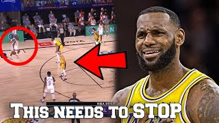 The los angeles lakers may have clinched #1 seed in west for 2020 nba playoffs... but they a huge problem that can prevent them from winning...