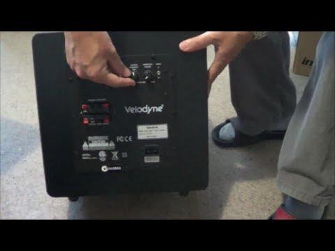 Velodyne Impact 10 Subwoofer Unboxing