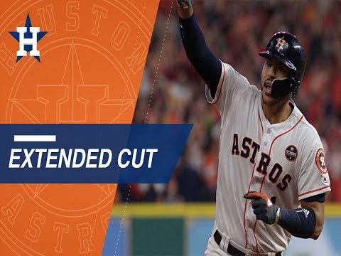 Extended Cut: Carlos Correa's clutch two-run home run in Game 5, his postgame reaction