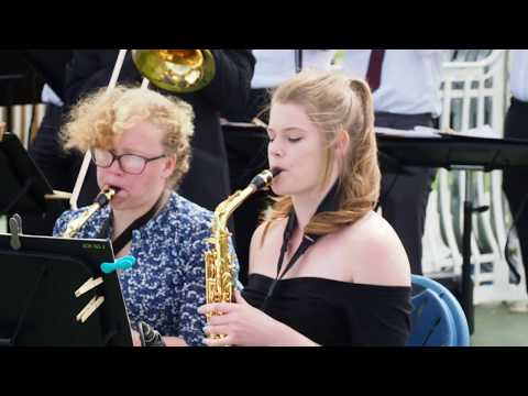 University of Portsmouth Big Band - Live at the Bandstand - 4th June 2017 4K