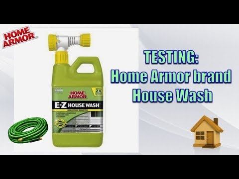 TESTING HOME ARMOUR HOUSE WASH
