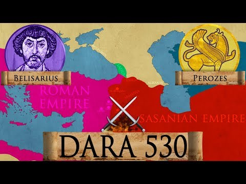 Battle of Dara 530 Roman - Sassanid Iberian War DOCUMENTARY