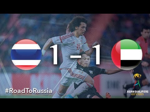 Thailand vs UAE (2018 FIFA World Cup Qualifiers)