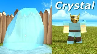 HOW TO GET GET CRYSTAL CHUNKS (CRYSTAL LOACTAION) Roblox Booga booga