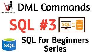 DML ( data manipulation language )in hindi | SQL placement series part 3