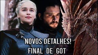 Novidades Sobre o Final de Game Of Thrones e o Destino de Daenerys Targaryen!