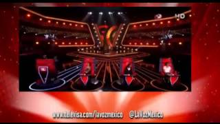 La Voz Mexico...3 Audiciones Kate Botello