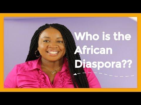 Diaspora Definition...Who is the African Diaspora? | Iveoma