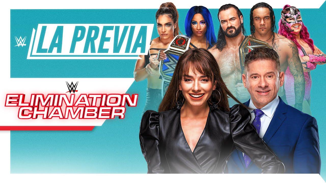 Watch WWE La Previa De Elimination Chamber 2/21/21