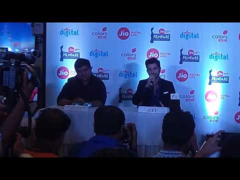 Actor Jeet at Jio Filmfare Award 2017 - East PC Event