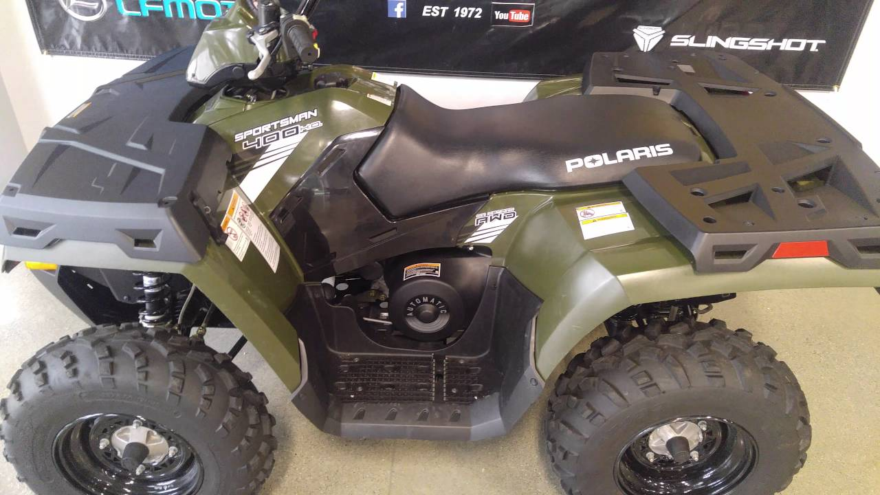 2014 Polaris Sportsman 400 h.o. - YouTube