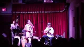 Leticia Rodriguez at the Cactus Cafe 2015