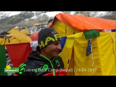 Ueli Steck last interniew at Everest before his death -  Nepal