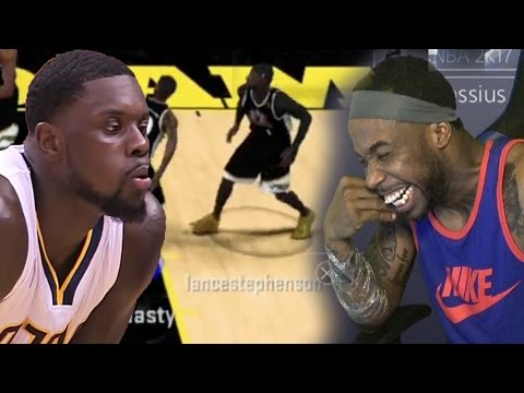 NBA STAR LANCE STEPHENSON & CashNasty Play 2k! HES ACTUALLY GOOD! HILARIOUS! Gameplay