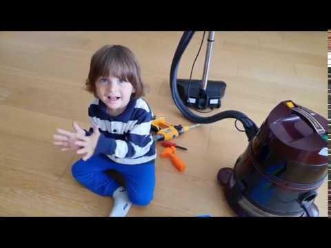 Robot elektrik süpürgesi,evimizi ihlas temizlik robotu temizleyecek Fatih selim bu makineye bayıldı