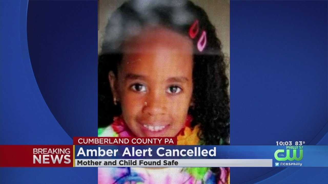 Amber Alert Cancelled After 7-Year-Old Girl Found Safe In Pennsylvania
