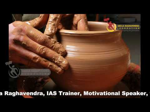 A WONDERFULL POT STORY FOR YOUR LIFE    DO HARD WORK    AKELLA RAGHAVENDRA