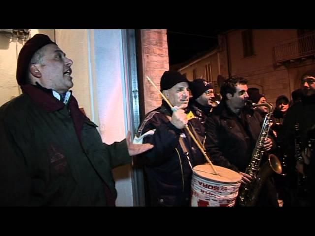 Gambatesa maitunat - notte 31 dic 2011: squadra Peppino Concettini