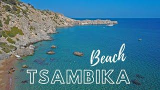 Top 10 Most Beauтiful Greek Islands Beaches | Rhodes Greece Tsambika Beach