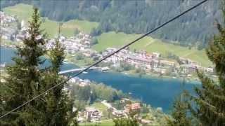 Weissensee - Mit der Bergbahn von der Naggler Alm nach Techendorf
