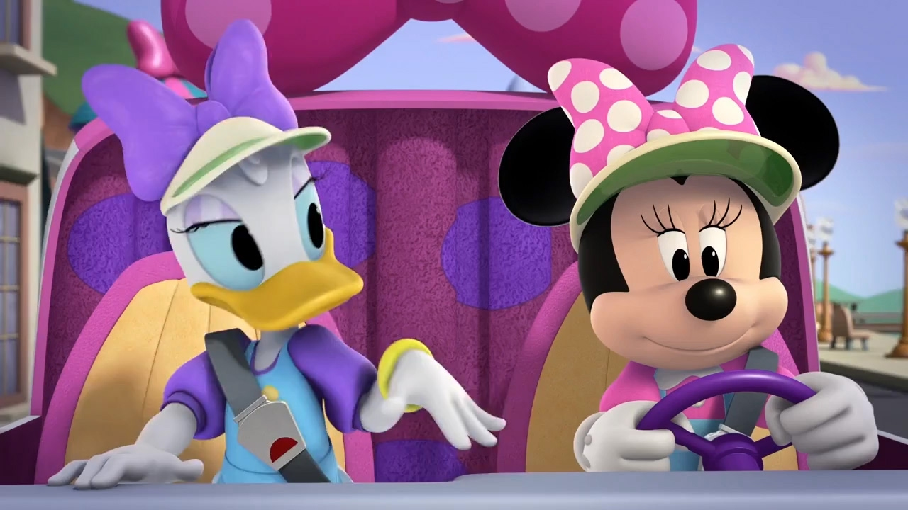 Minnie and daisy happy helpers song mickey and the - Minnie et daisy ...