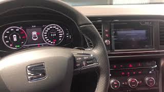 Entrega de SEAT LEÓN CUPRA 290 2018 con Virtual Cockpit