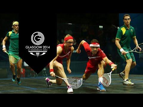Squash - Day 11 Highlights Part 8 | Glasgow 2014