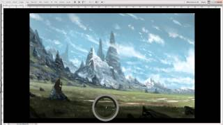 Fantasy environment - Speed painting