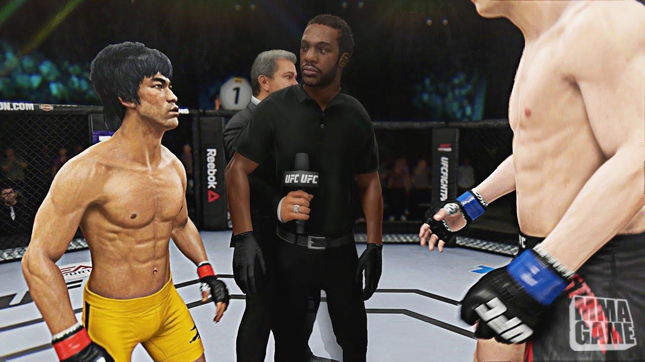 Download EA Sports UFC 3   Bruce Lee vs Stefan Struve   Open Weight   CPU vs CPU