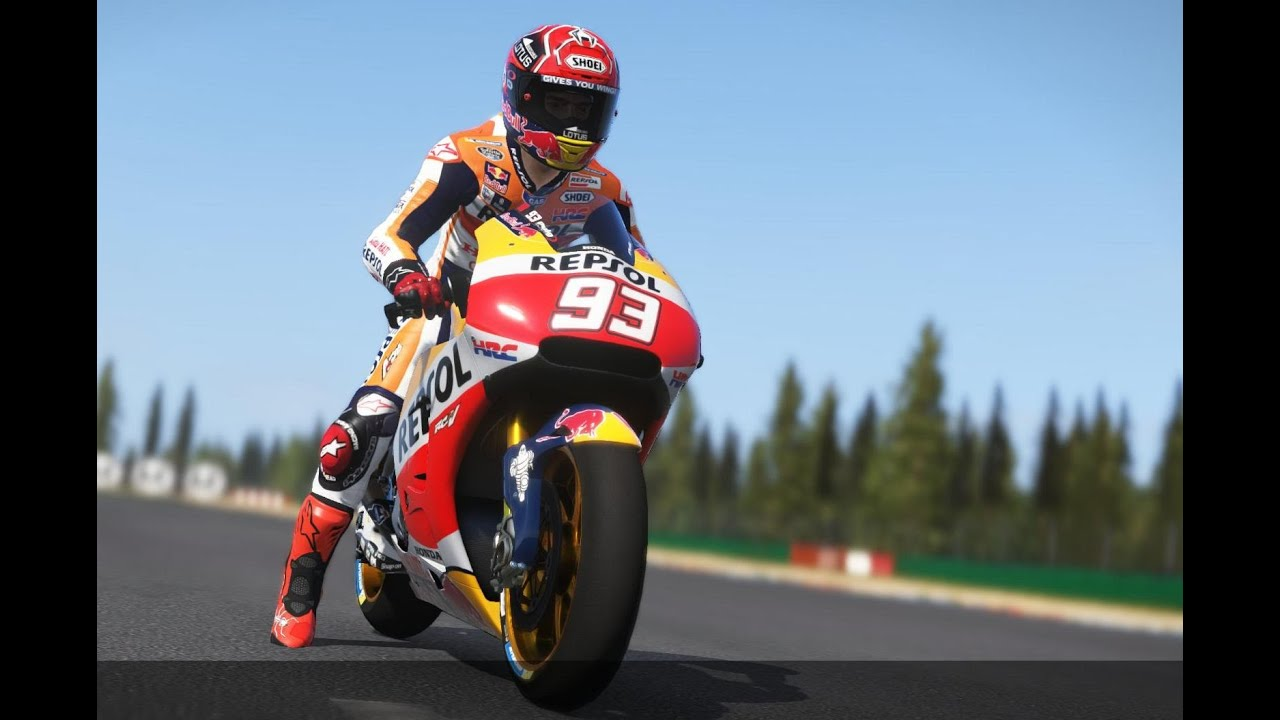 MotoGP 16 | MARC MARQUEZ - MotoGP | RACE game | CZECH REPUBLIC - BRNO 2016 - YouTube