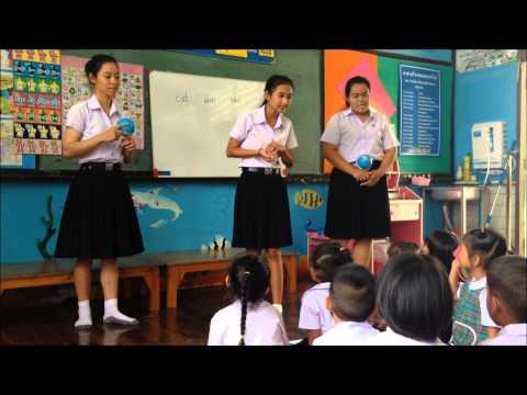 ทดลองสอน เรื่อง กลางวัน นักศึกษาคณะครุศาสตร์ สาขาการศึกษาปฐมวัย ชั้นปีที่ 1 มหวิทยาลัยราชภัฎเพชรบุรี