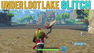 HOW TO GET UNDER LOOT LAKE GLITCH WITH THE ATK | Fortnite Battle Royale