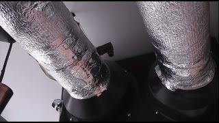 видео приточно вытяжной рекуператор