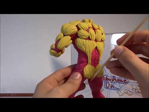 Tutorial TITAN ACORAZADO (plastilina). Make your OWN ARMORED TITAN. Attack on Titan DIY