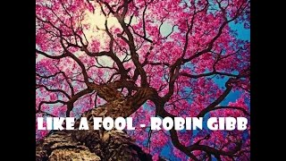 Like A Fool - Robin Gibb          LYRICS