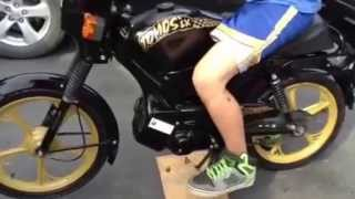Tomos Moped LX Turbo Exhaust 49cc - Cheap on Gas!!   Canada's Best Bike