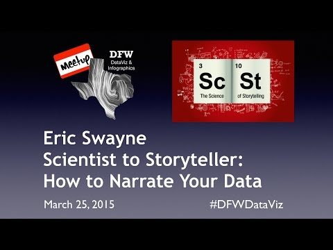 Scientist to Storyteller: How to Narrate Your Data