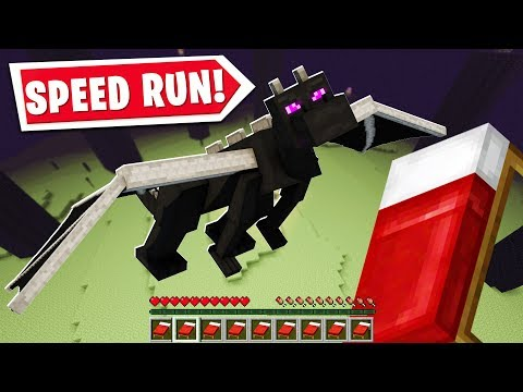 SO I BECAME A MINECRAFT SPEED RUNNER..