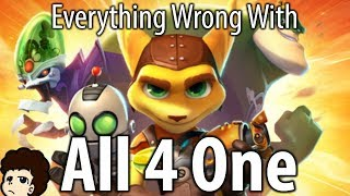 connectYoutube - Everything Wrong With Ratchet and Clank: All 4 One - valeforXD