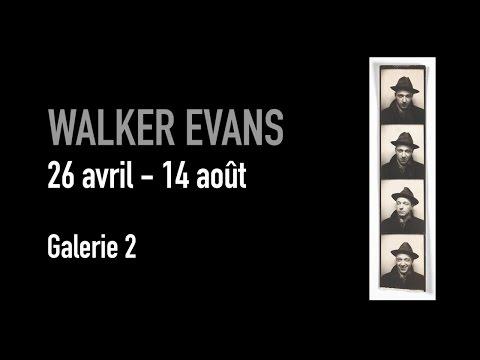 Teaser | Walker Evans | Exposition | Centre Pompidou