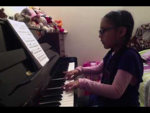 BEYER OP. 101 SCALE OF F MAJOR/ LAURA MENDEZ (7 years old)