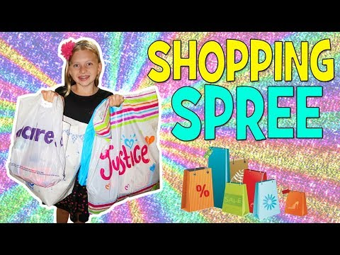 Shopping Spree at the Mall!!