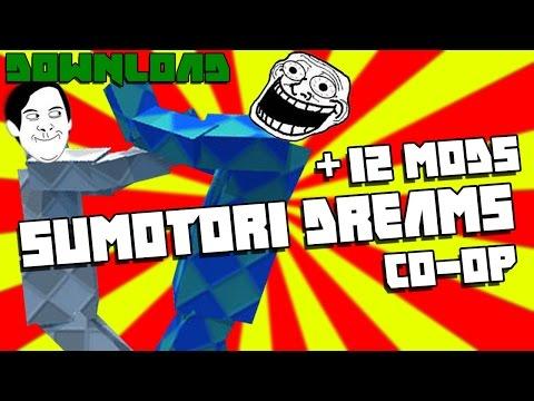 สอนดาวโหลดเกม Sumotori Dream + 12 mods (เล่นได้2คน)