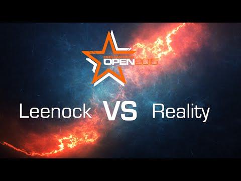 Leenock vs. Reality [ZvT] - RO8 - Bo5 - DreamHack Open Stockholm 2015