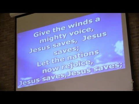 Hymn #340- Jesus Saves 12-5-15