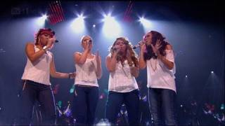 Little Mix let their vocals out - The X Factor 2011 Live Show 8 (Full Version)