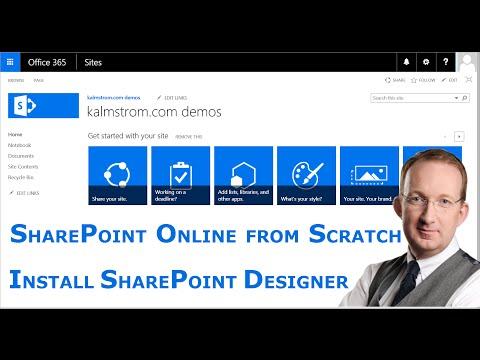 Install SharePoint Designer 2013
