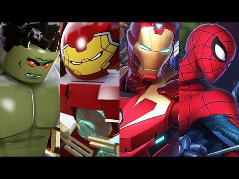 Download Iron Man & Hulkbuster Battle Gameplay! Marvel Avengers Spider-Man, Hulk, Captain America!