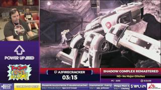 Shadow Complex Remastered by ajfirecracker in 17:03 - SGDQ2017 - Part 112