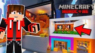 My CROREPATI MODERN HOUSE TOUR In Minecraft Hardcore #14